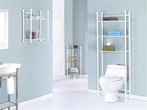 Corner Etagere Bathroom by Review Of Glass Based Bathroom Corner Shelves