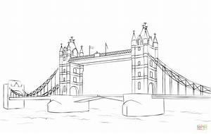 London Bridge Dessin : tower bridge coloring page free printable coloring pages ~ Dode.kayakingforconservation.com Idées de Décoration