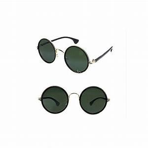 Lunette Soleil Ronde Homme : lunettes de soleil lunettes rondes lunettes mixte ~ Nature-et-papiers.com Idées de Décoration