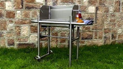 edelstahl grill holzkohle holzkohle grillwagen aus edelstahl