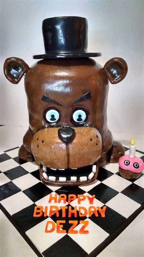 nights  freddys freddy faz bear    cakes