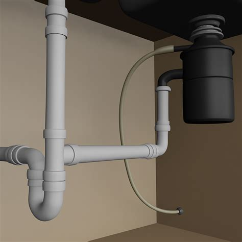 plumbing a garbage disposal in a double sink garbage disposal plumbing double sink kitchen sink