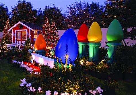 jumbo outdoor christmas lights oversized outdoor decorations www indiepedia org