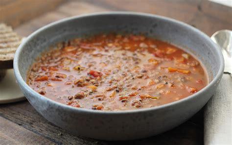 lentille cuisine recette soupe aux lentilles vertes du puy repas en mode coconing