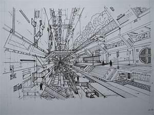 Futuristic City by kvitalij on DeviantArt