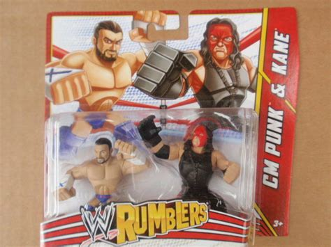 Wwe Rumblers Cm Punk & Kane