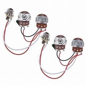 Wiring Harness Prewired Kit For Precision Bass Guitar 250k