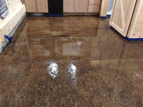 concrete sting cost acid staining our concrete floors an expensive look at little cost