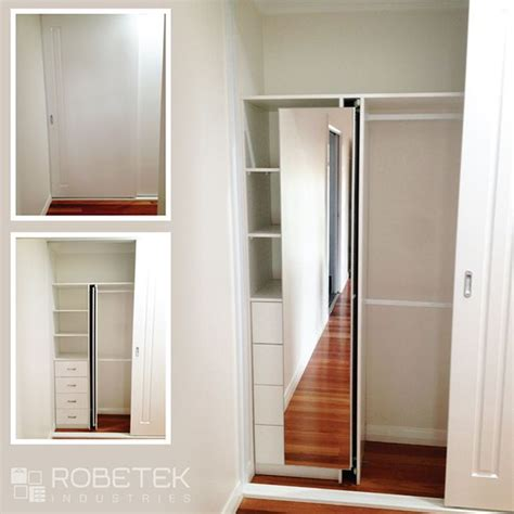 Big Wardrobe With Mirror by Feng Shui Wardrobe Idea A Built In Pull Out Mirror