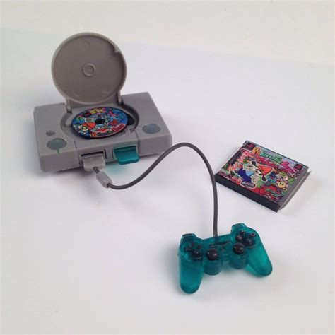 Dollhouse Miniature Playstation History Collection