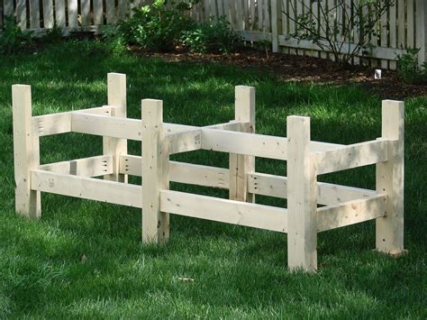 waist high planter box  steps  pictures