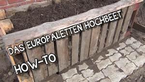 Euro Paletten : das europaletten hochbeet how to der aussteiger youtube ~ Orissabook.com Haus und Dekorationen
