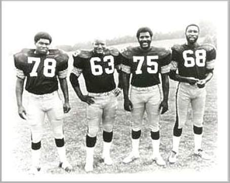 steelers the steel curtain butkus joe greene gale sayers and brian