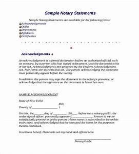 declaration statement template business template With declaration document template
