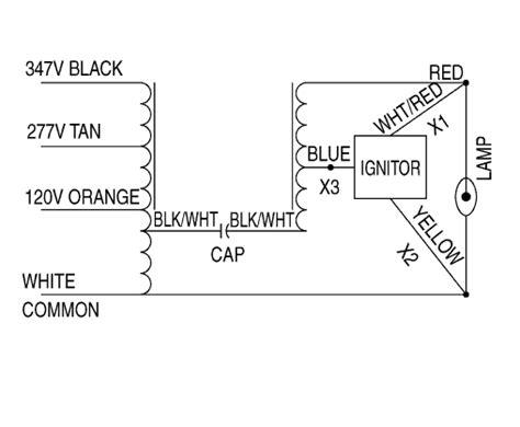 Additional Ballast Wiring Diagrams Hps Ballasts