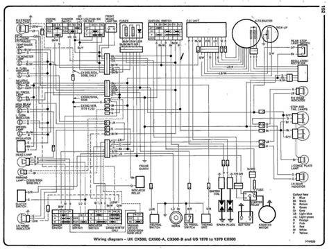 Honda Motorcycle Complete Wiring Diagram