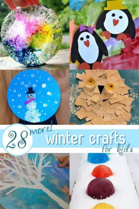 easy preschool winter crafts 28 easy winter crafts for on as we grow 947