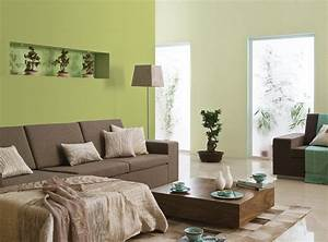 Wohnzimmer Ideen Grün : wohnzimmer ideen wandgestaltung gr n ~ Lizthompson.info Haus und Dekorationen