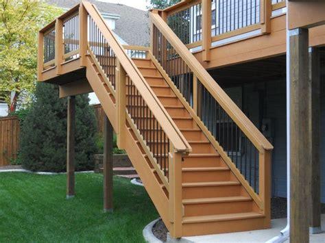 deck  handrail images  pinterest banisters