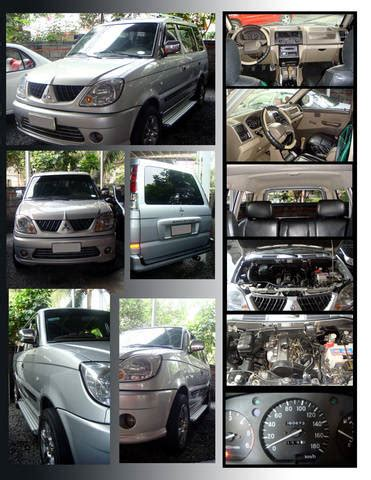 adventure mitsubishi interior 2002 mitsubishi adventure gls sport for sale from cavite