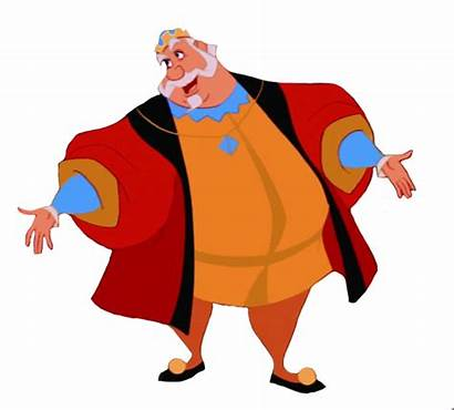 Rey Disney King Sleeping Encantados Character Huberto