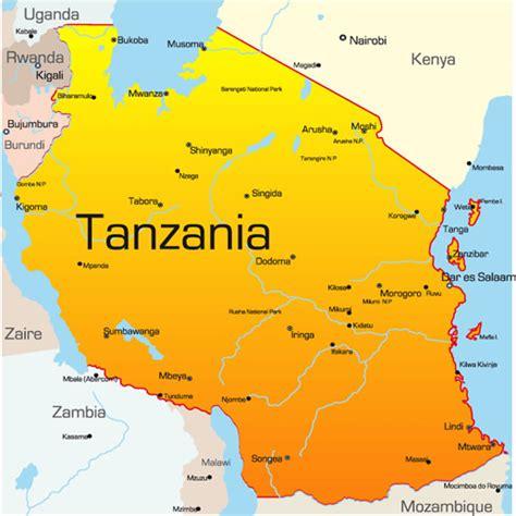 tanzania lake victoria map