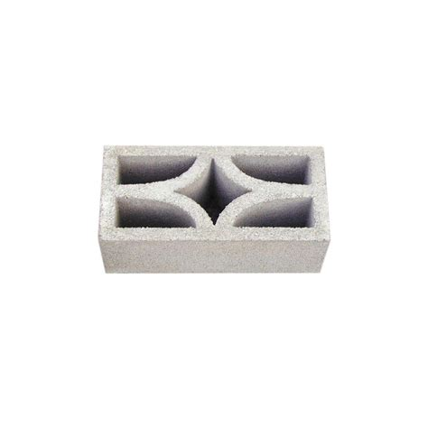 decorative cinder blocks home depot tileco 6 in x 8 in x 16 in 422 concrete decorative