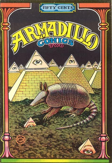 armadillocomics   underground comic armadillo art