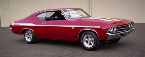 1969 chevrolet chevelle yenko muscle car hot cars