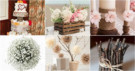 diy wedding decor ideas 35 breathtaking diy rustic wedding decorations for the