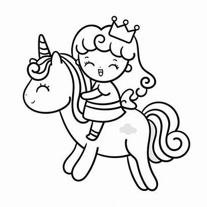 Coloring Princess Unicorn Momlifehappylife Cutest Adorable Active