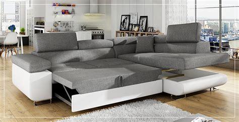 canape contemporain grand canap d 39 angle convertible sofamobili