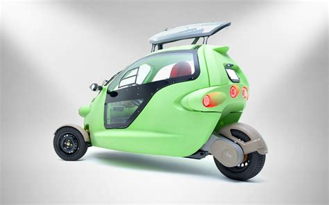 Total Electric Cars by Sam Three Wheeled Electric Minicar Is Coming To The U S