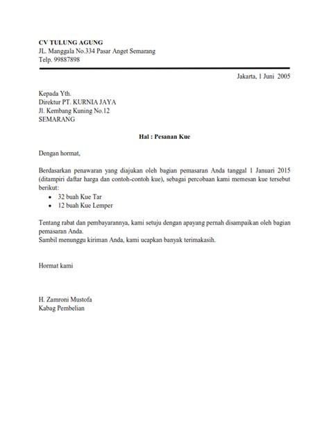 Contoh Surat Penawaran Bentuk Semi Block Style by Contoh Surat Dinas Semi Block Style Contoh Hu