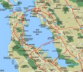 San Francisco Bay • Mapsof.net