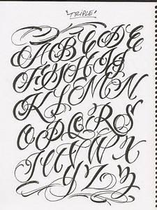Caligrafía, abecedarios - Taringa! | Me encanta la ...