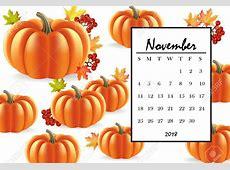 November 2018 Calendar Thanksgiving Quotes Calendar
