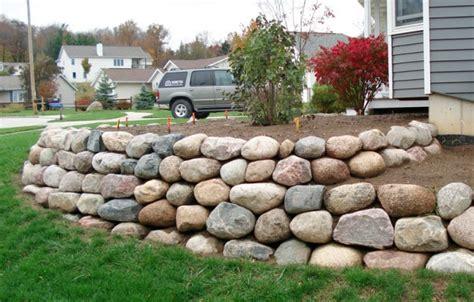fieldstone retaining wall cost fieldstone boulders