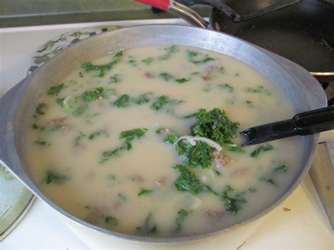 olive garden tuscan soup recipe tuscan soup a la olive garden recipe food