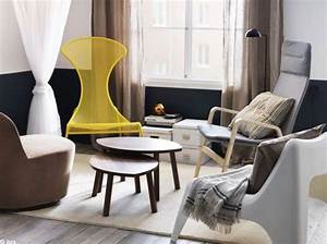 Ikea Fauteuil Salon : petit salon fauteuils depareilles ikea h o m e ~ Teatrodelosmanantiales.com Idées de Décoration