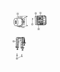 Chrysler 300 Module  Anti-lock Brake System   Electronic Stability Control