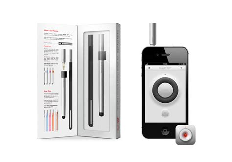 iphone laser pointer iphone smart dot laser pointer and presentation app