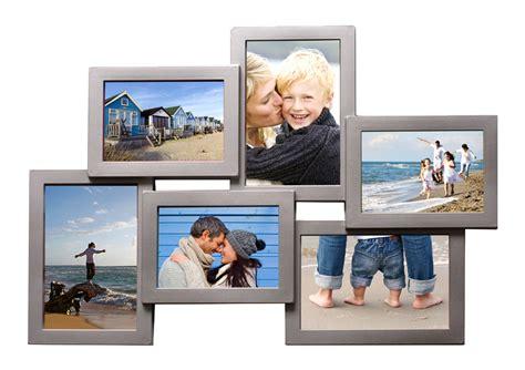 bilderrahmen collage silber bilderrahmen collage fotogalerie rahmen 10 fotos wei 223 schwarz silber braun 153 ebay