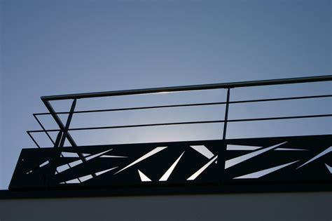 bureau d etude structure garde corps métal pour terrasse extérieure vendée escaliers