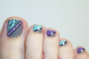 30 Fancy and Cool Toe Nail Designs 2019 – SheIdeas