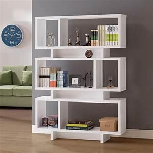 Betty, White, Wood, Finish, Bookcase