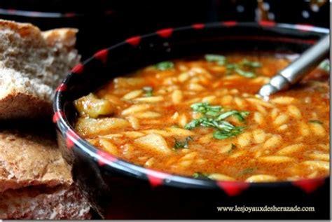 cuisine tunisienne chorba berkoukes بركوكس