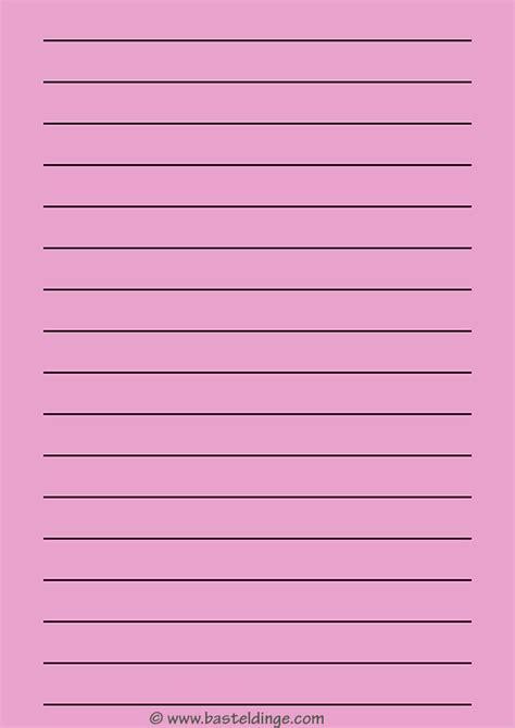 liniertes papier zum ausdrucken basteldinge
