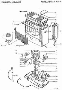 Sears Portable Kerosene Heater Parts