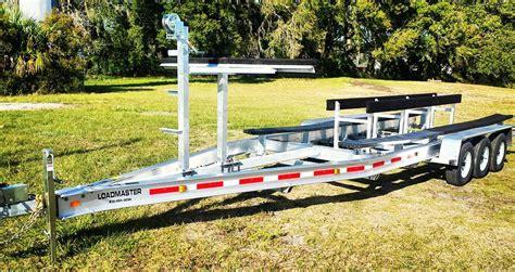 Catamaran Trailer Design catamaran trailers loadmaster trailers